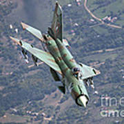 A Bulgarian Air Force Mig-21bis Armed Poster