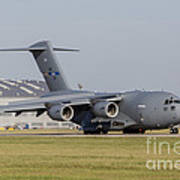 A C-17 Globemaster Strategic Transport Poster