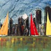 A Chicago Sail Poster