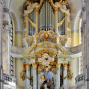A Church Filled With Music - Church Of Our Lady Dresden Poster