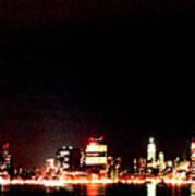 A City's Lights Poster by Richard Gerken