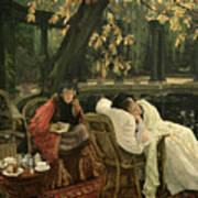 A Convalescent Poster by James Jacques Joseph Tissot