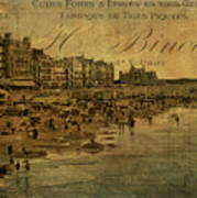 A Cote De La Mer Poster