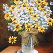 A Country Bouquet Poster