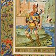 A Court Fool Of The 15th Century. 19th Poster