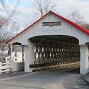 A Covered Bridge Poster