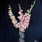 A Cutting Of Gladiolas Poster