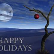 A Desert Christmas Poster