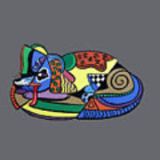A Dog Named Picasso T-shirt Poster