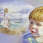 A Dream Of An Ocean Poster