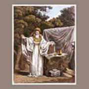 A Druid In His Judicial Habit Poster