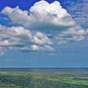 A Few Clouds In Keywest Poster
