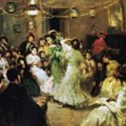 A Flamenco Party At Home Poster