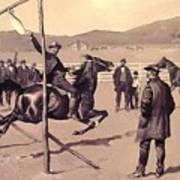 A Gander Pull 1894 Poster