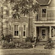 A Grand Victorian 3 - Sepia Poster