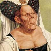 A Grotesque Old Woman Poster