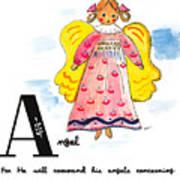 A Is For Angel Poster