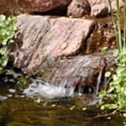 A Little Waterfall Poster