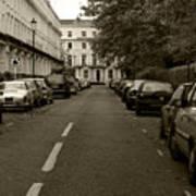 A London Street II Poster