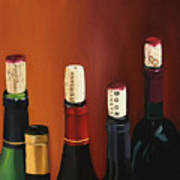 A Maryland Wine Party Poster by Brien Cole