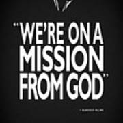 A Mission From God Poster