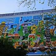 A Mural On The San Antonio Riverwalk Poster