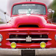 A Nice Red Truck  Poster