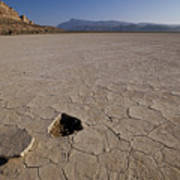 A Parched Lake Bed Below Notch Peak Poster