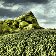 A Pointed Hilltop Poster