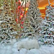 A Polar Bear Christmas Poster