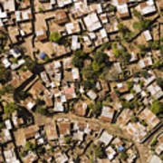 A Poor Neighborhood In Urban Maputo Poster
