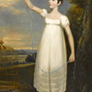 A Portrait Of Ellen Smith Of Nottingham Poster