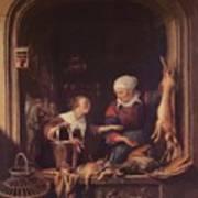 A Poulterer Shop Poster