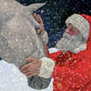 A Present For Santa Poster