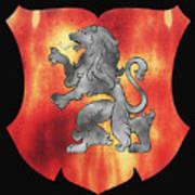 a Royal Crest Poster