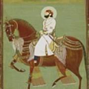 A Ruler On Horseback Poster