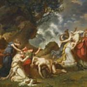 A Scene From Classical Mythology Poster