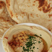 A Serving Of Humus Poster