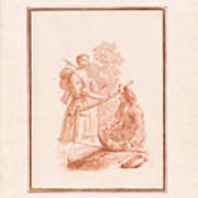 A Shepherdess And A Fishseller Poster