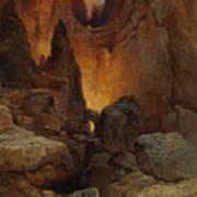 A Side Canyon, Grand Canyon Of Arizona Poster