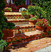 A Spanish Garden Poster