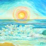 A Splash Of Dawn Poster