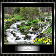 A Splendid Day On Logging Creek Poster