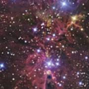 A Stellar Nursery Located Towards Poster