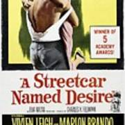 A Streetcar Named Desire Portrait Poster Poster