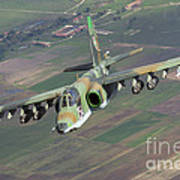 A Sukhoi Su-25s Of The Bulgarian Air Poster