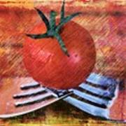 A Tomato Sketch Poster