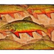 A Trout Lovers Dream Poster by Terry Mulligan