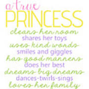 A True Princess Does Her Best Poster