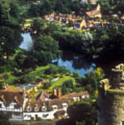 A View From Blarney Castle In Ireland Poster